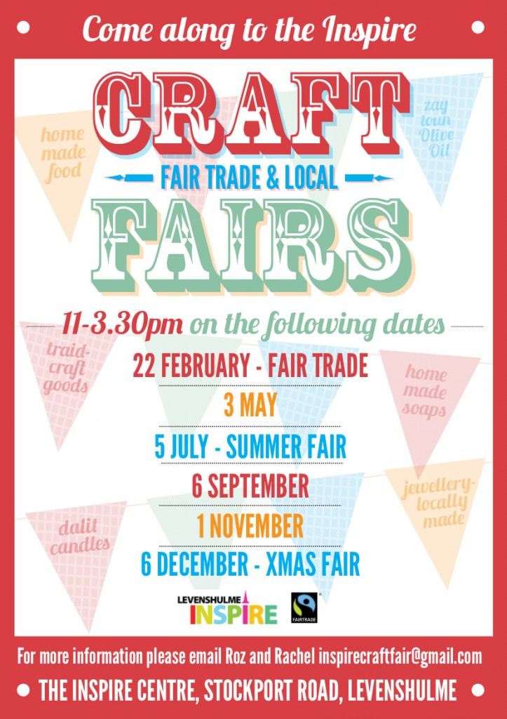 LEVY CRAFT FAIR flyer