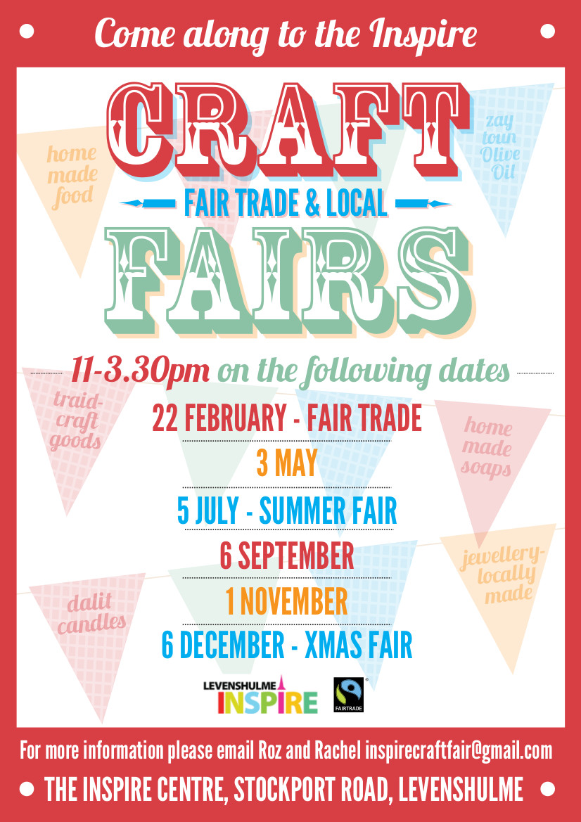 Inspire Summer Craft Fair This Saturday Levenshulme Market