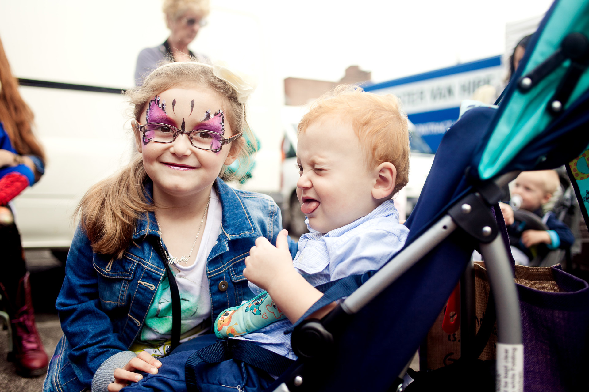 Manchester markets face painting